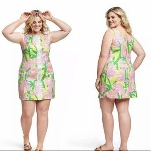 Lilly Pulitzer for Target Pink Green Dress